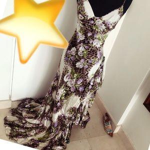 🎄Roberto Cavalli vintage gown dress small Gorge🎄